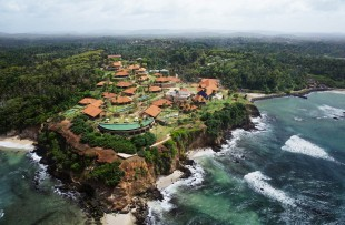 Cape Weligama aerial view 1