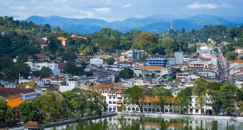 DAY 5 Kandy cityscape